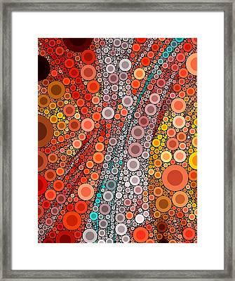 Pop-09 Framed Print by RochVanh
