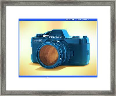 Pop Art 110 Pentax Framed Print