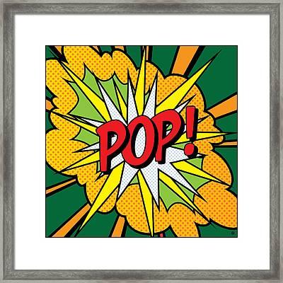 Pop Art 4 Framed Print by Gary Grayson