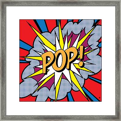 Pop Art Framed Print by Gary Grayson