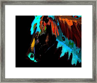 Pop Art Framed Print by Gerlinde Keating - Galleria GK Keating Associates Inc