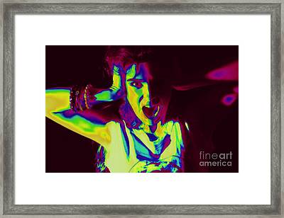 Pop Art Music Framed Print by Arie Arik Chen