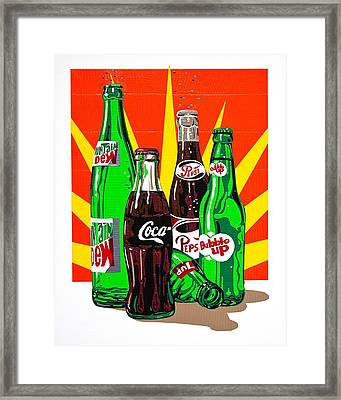Pop Art Framed Print by Neil Garrison