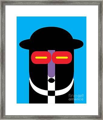 Pop Art People 10 Framed Print by Edward Fielding