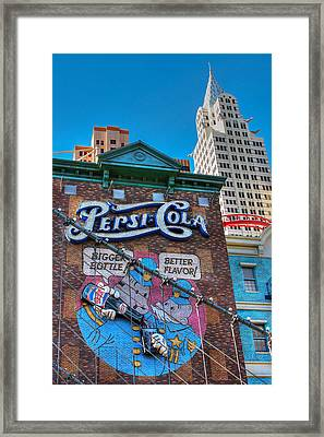 Framed Print featuring the photograph Pop by Glenn DiPaola