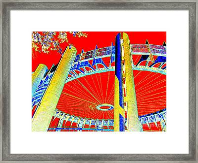 Pop Goes The Pavillion Framed Print