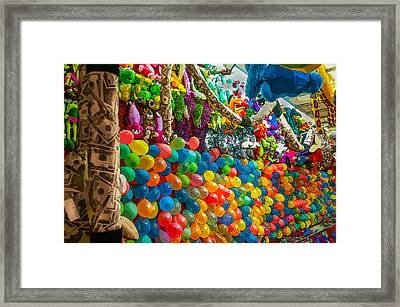 Pop One And You Win  Framed Print
