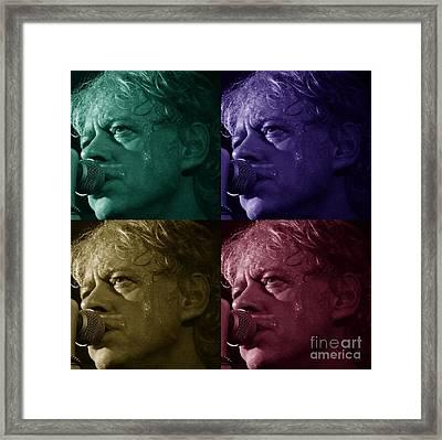 Pop Star Art Framed Print by Julie Koretz