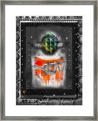 Pop Star Framed Print