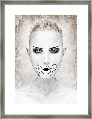 POP Framed Print by Yosi Cupano