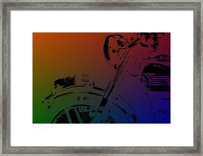 Popart Old Mc Framed Print