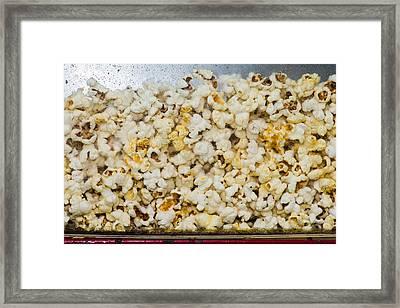 Popcorn 2 - Featured 3 Framed Print by Alexander Senin