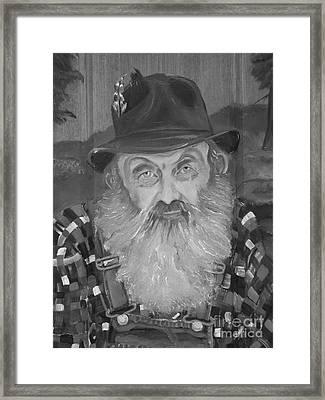 Popcorn Sutton - Jam - Moonshine Framed Print