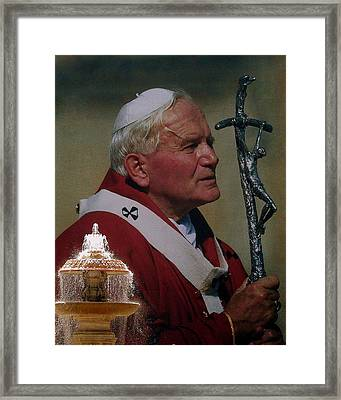 Pope John Paul I I Framed Print
