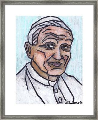 Pope John Paul II Framed Print