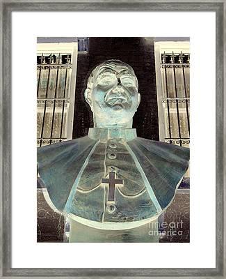 Pope John Paul The Second Framed Print by Ed Weidman