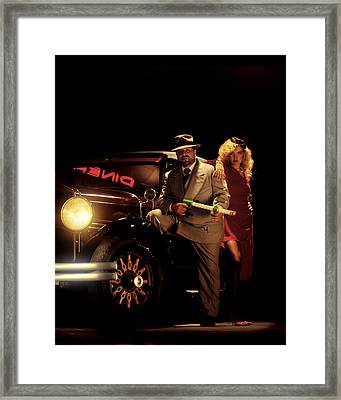 Popgun Louie Framed Print by Don Wolf