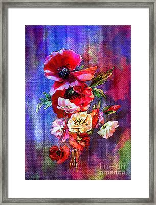 Poppies Framed Print by Andrzej Szczerski