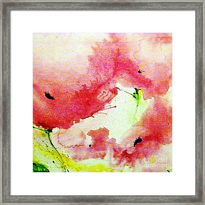 Poppies In Summer 3 Framed Print by Ismeta Gruenwald