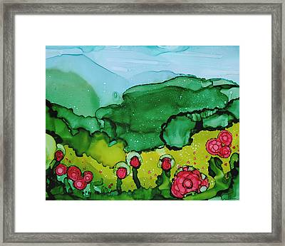 Poppin Poppies Framed Print by Kim Thompson