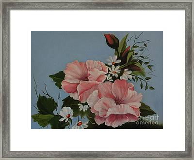Poppy Love Framed Print by Louise Williams