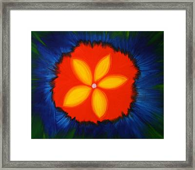 Poppy Place Framed Print