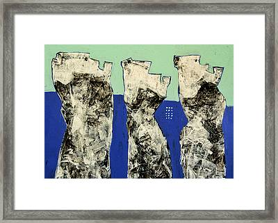 Populus No. 2 Framed Print by Mark M  Mellon