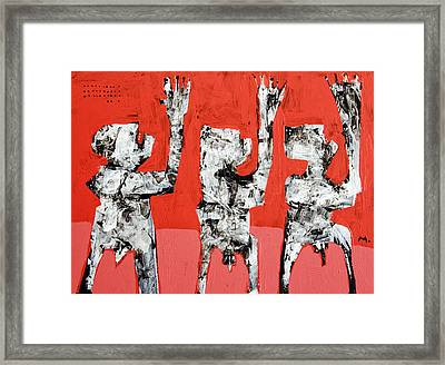 Populus No. 5 Framed Print by Mark M  Mellon