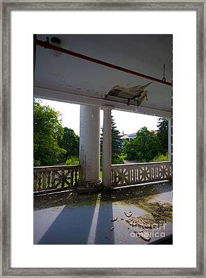 Porch Framed Print