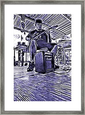 Porch Pickin Framed Print