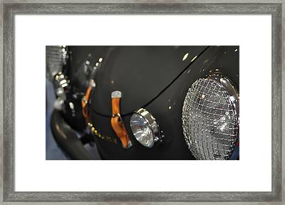 Porche Carrera Framed Print by Ronda Broatch