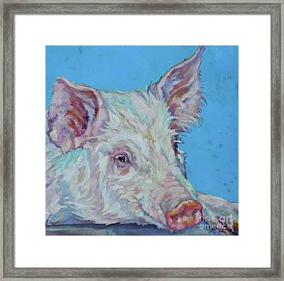 Pork Chop Framed Print