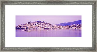 Poros, Greece Framed Print by Panoramic Images