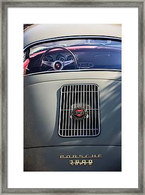 Porsche 1600 Super Rear End Framed Print by Jill Reger