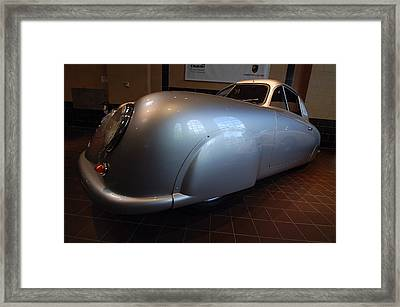 Framed Print featuring the photograph Porsche 1949 356 S L Gmund Coupe by John Schneider