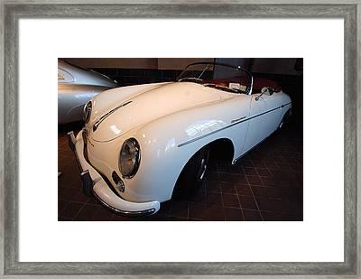 Framed Print featuring the photograph Porsche 1957 356 A Speedster by John Schneider