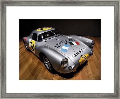 Porsche 550 Le Mans Framed Print