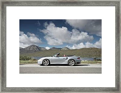 Porsche 911 - 996 Turbo Framed Print