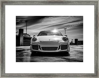 Framed Print featuring the digital art Porsche 911 Gt3 by Douglas Pittman
