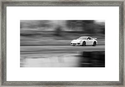 Porsche 911 Gt3 Supercar Framed Print
