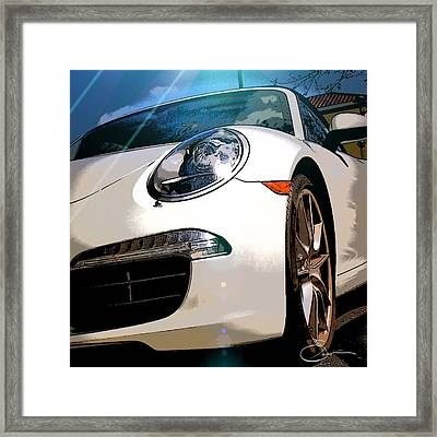 Porsche 911 Framed Print by Robert Smith