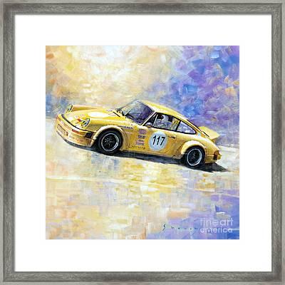 Porsche 911 S Typ G Josef Michl Framed Print by Yuriy Shevchuk