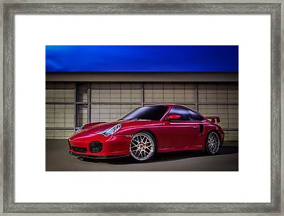 Porsche 911 Twin Turbo Framed Print
