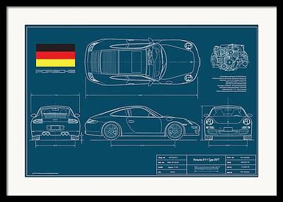 Import Car Framed Prints