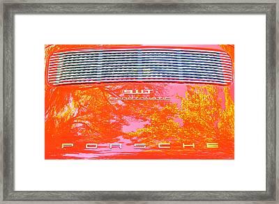 Porsche 911t Reflections Framed Print
