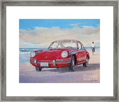 1967 Porsche 912 Framed Print