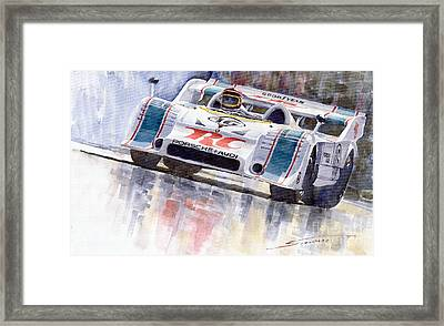 Porsche 917 10 Rc Cola Team Follmer Framed Print by Yuriy  Shevchuk