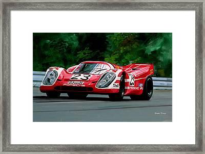 Porsche 917  Le Man Winner Framed Print