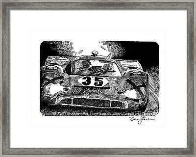 Porsche 917 Longtail Framed Print