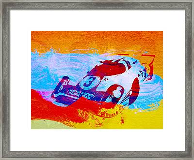 Porsche 917 Martini And Rossi Framed Print